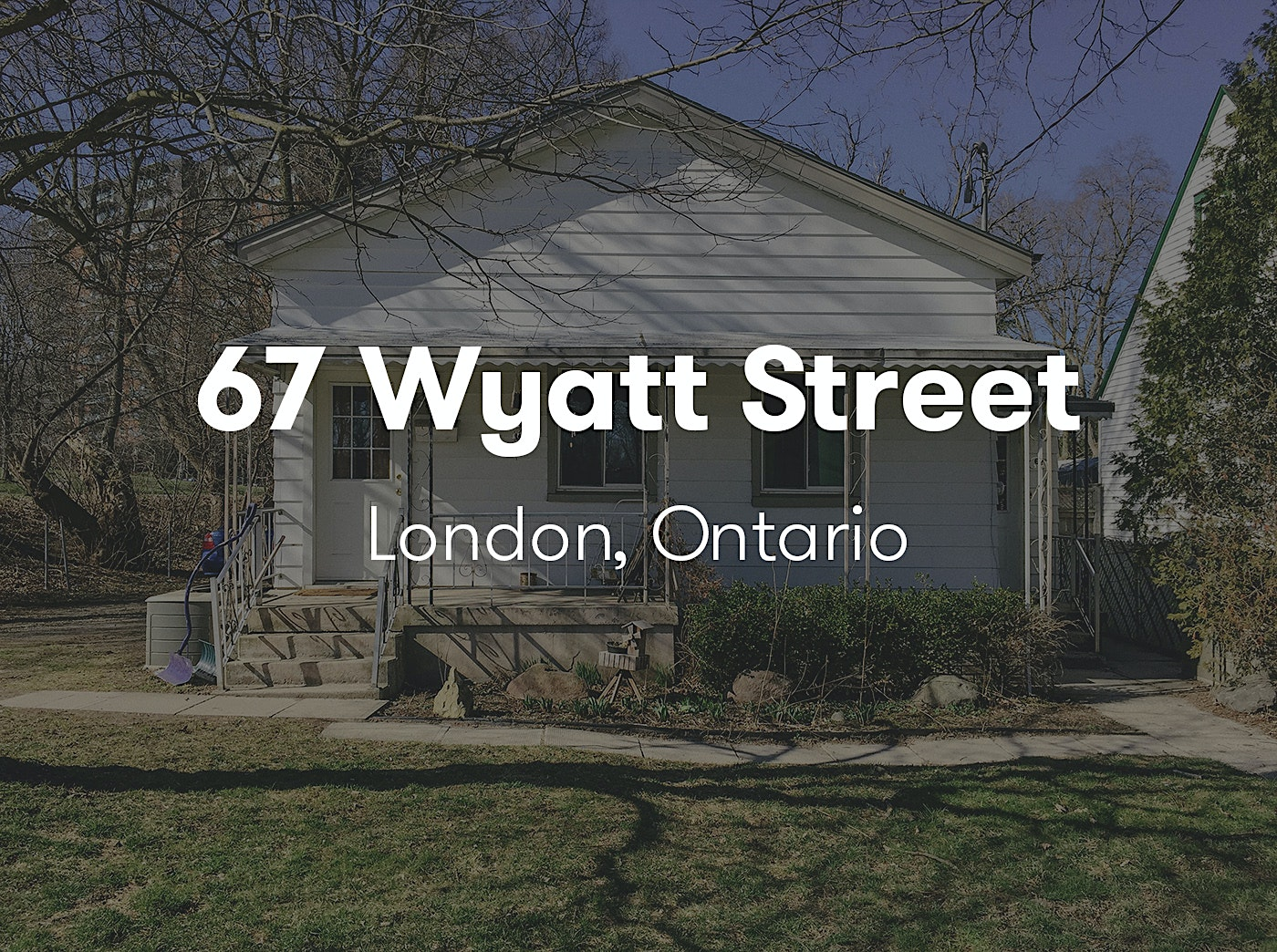London Ontario Real Estate Photography: 67 Wyatt St
