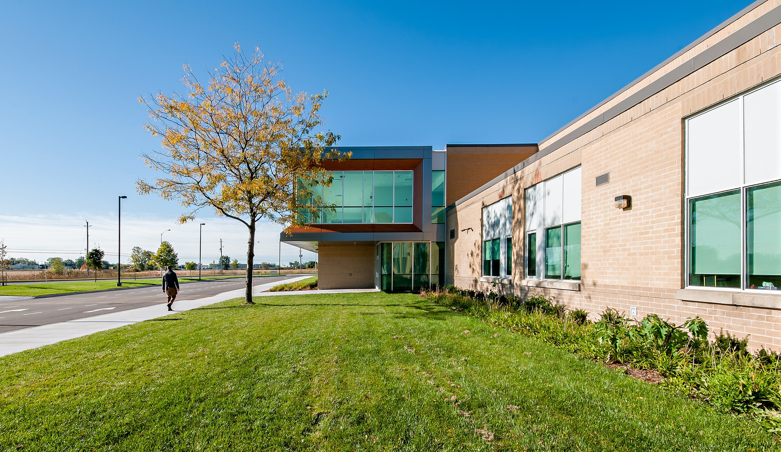 Architecture Photograph of School in Southwestern Ontario