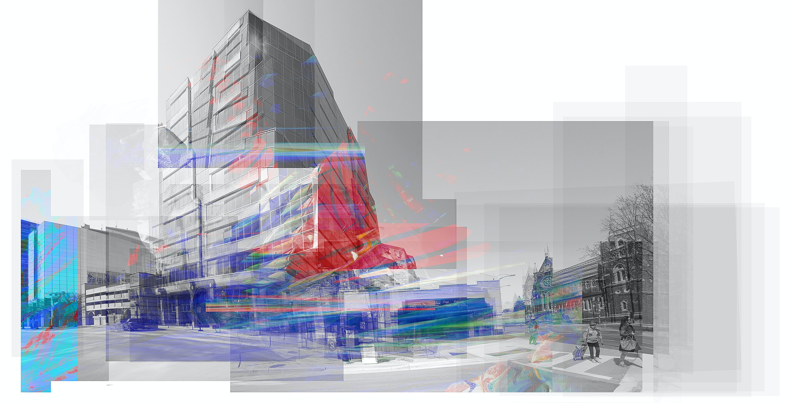 Abstract Architecture Art