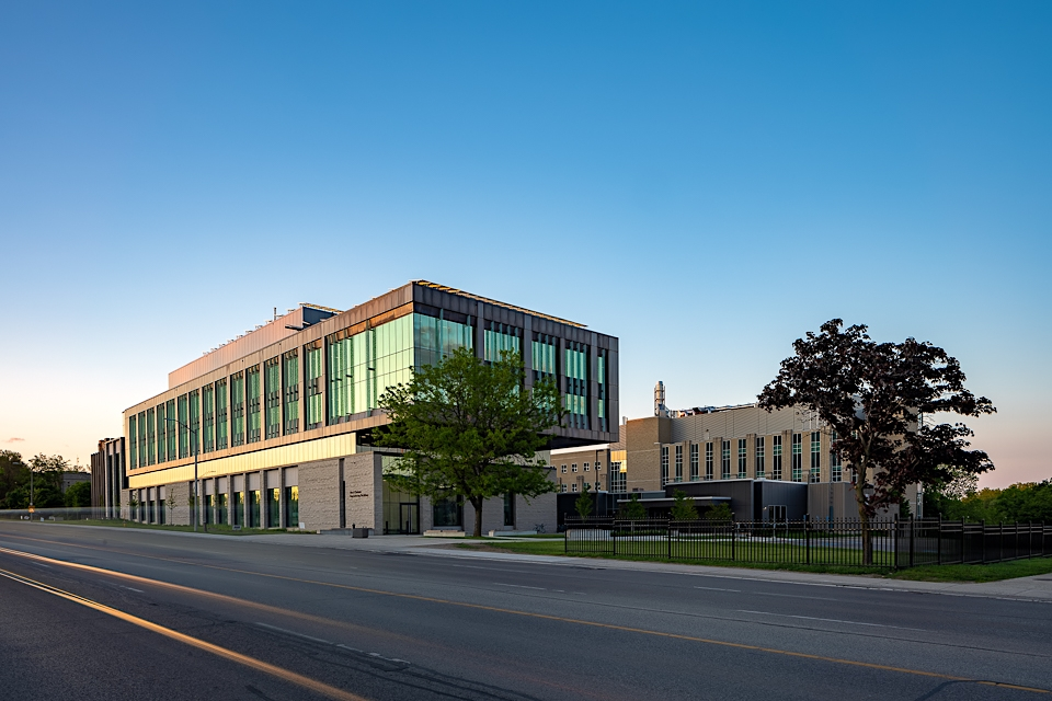 Beautiful and Modern Architecture of new building in London Ontario