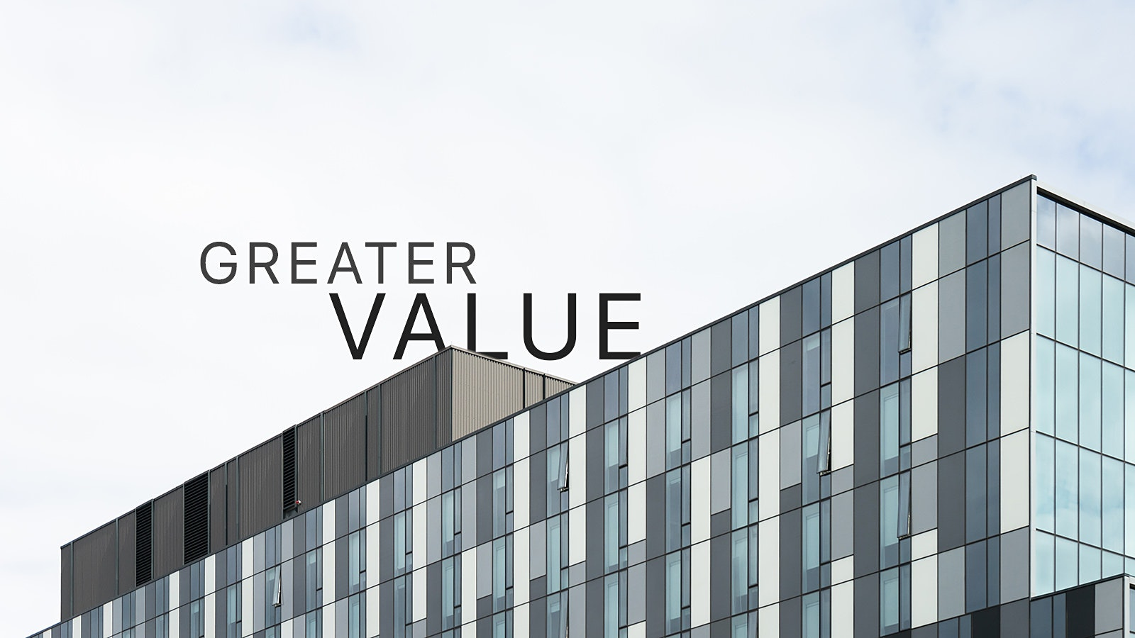 Find greater value in architectural photography