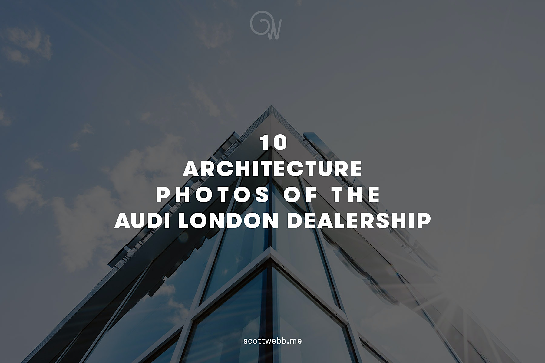 10 Architecture photos of the Audi London Dealership by Scott Webb