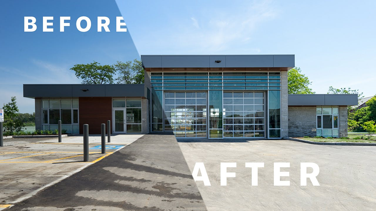 Architecture Photography Series architectural photography before and after series | scott webb