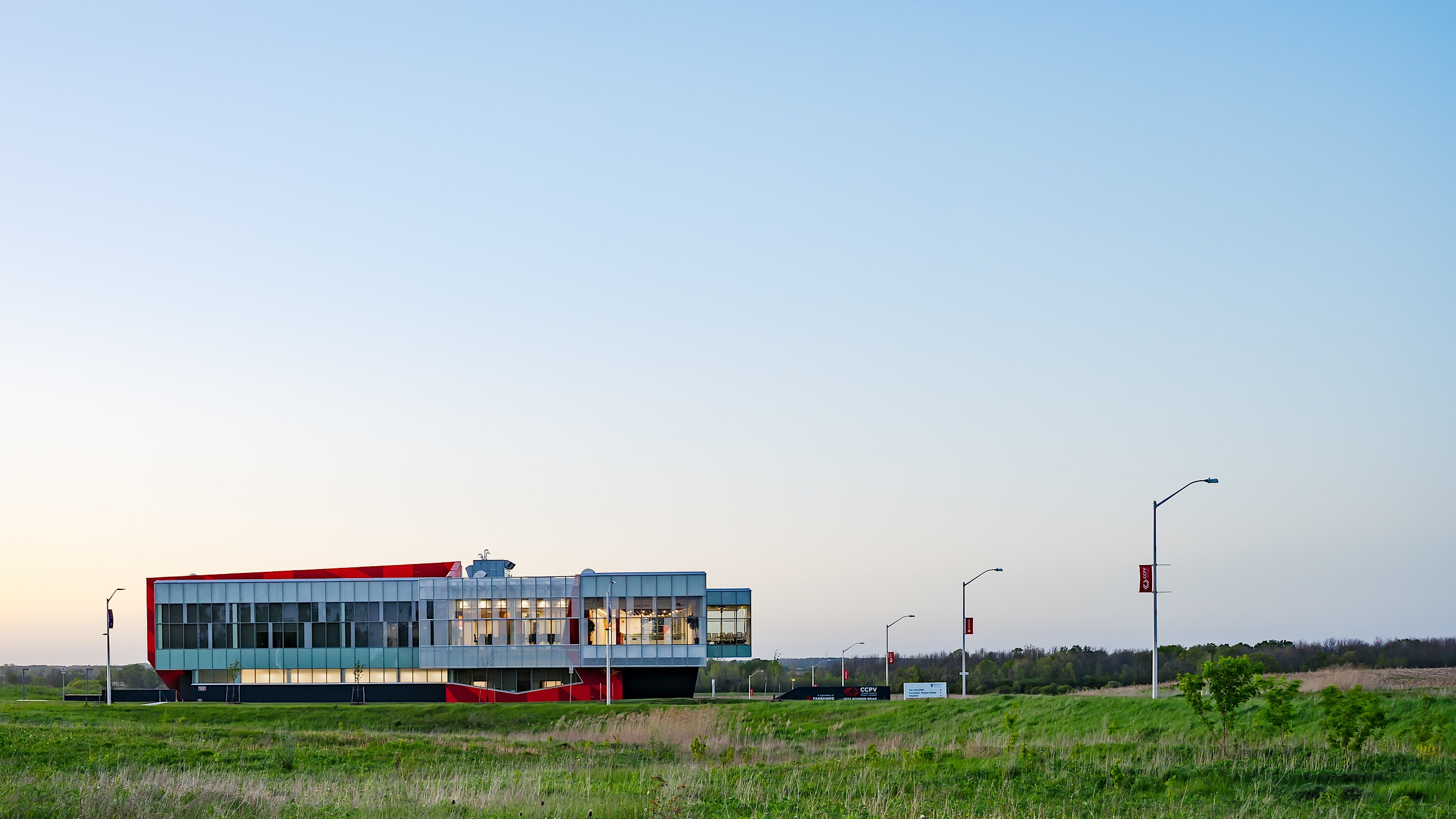 Architecture photograph by Scott Webb in London Ontario - Building: CCPV