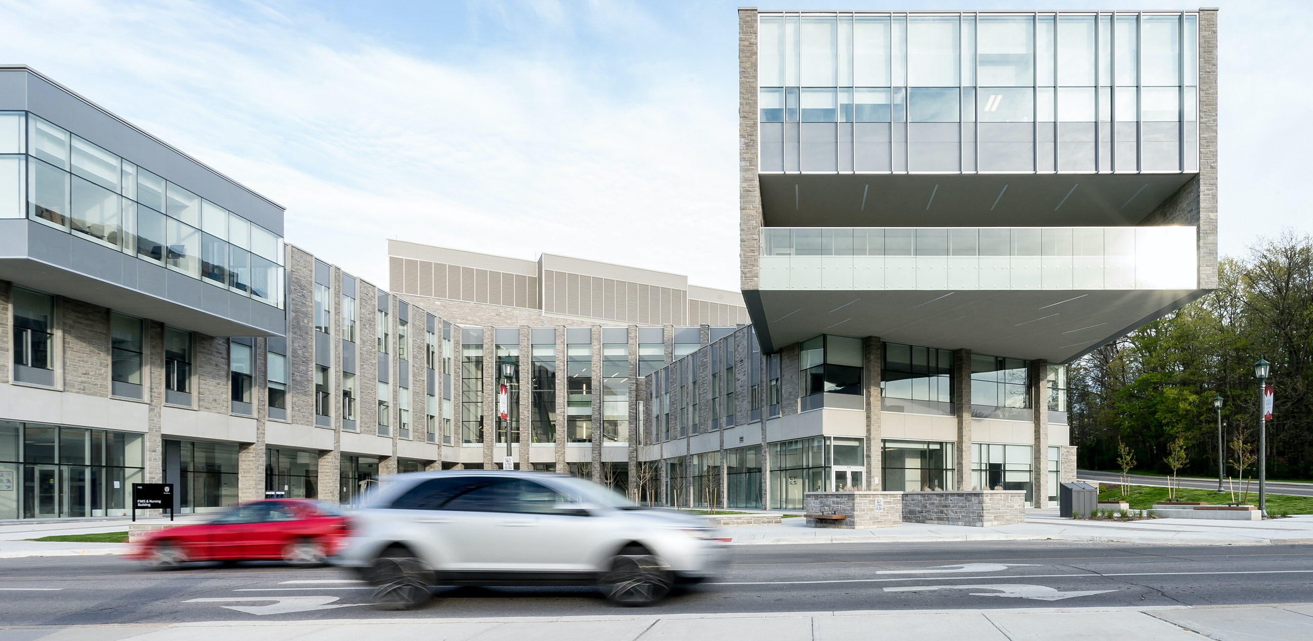Architectural Photography London Ontario - FIMS NURSING BUILDING at UWO by Scott Webb
