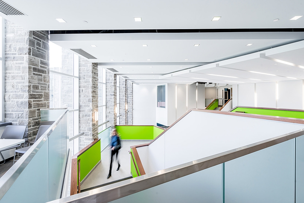 People in Architectural Photography at UWO by Scott Webb Photography