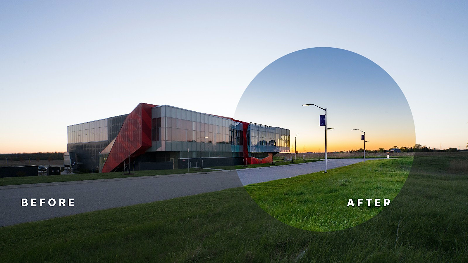 Before and After Series: Architectural Photography of CCPV