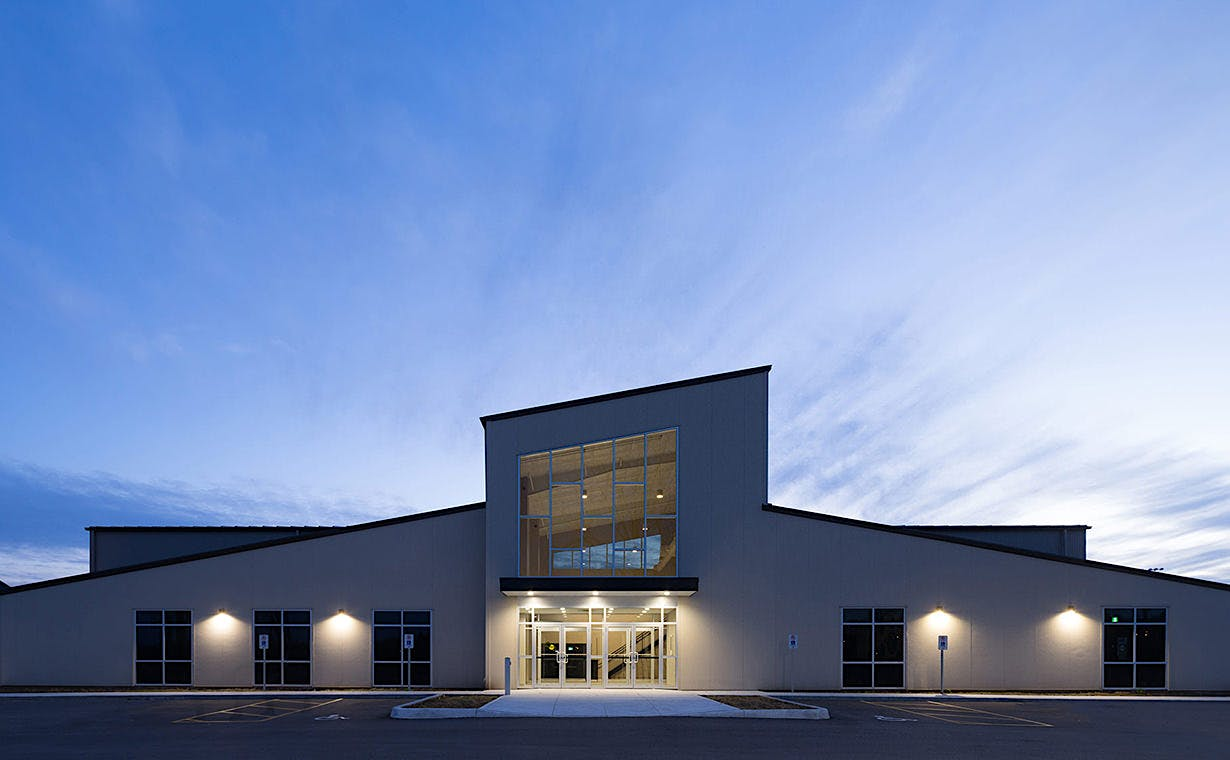 Architectural Photography Work by Scott Webb at Bethel Pentecostal Church Tillsonburg