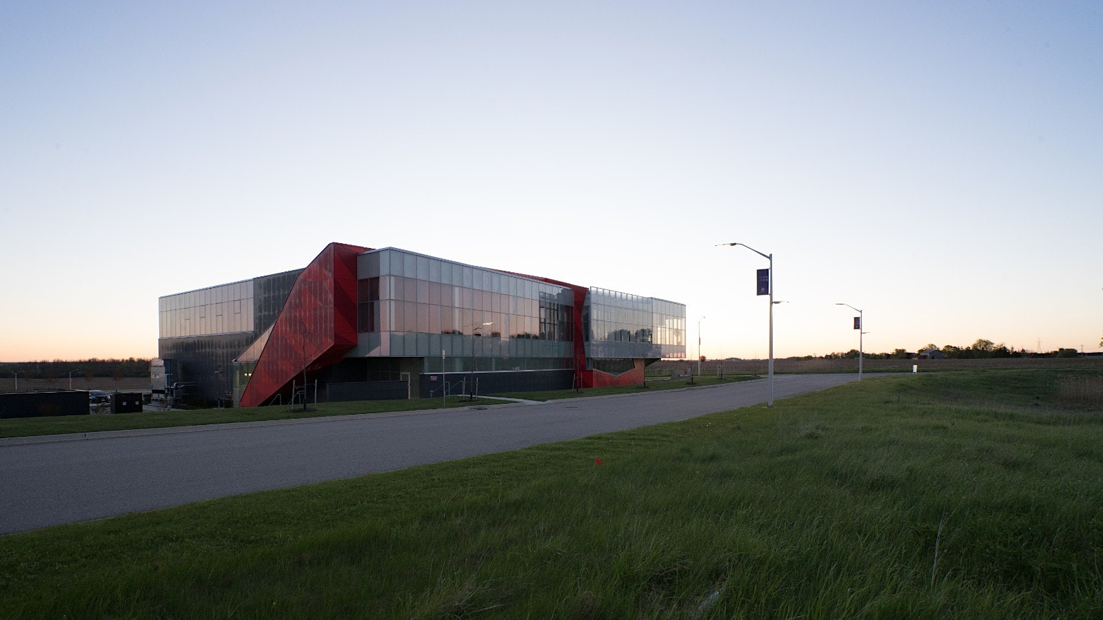 Original Architecture Photo of CCPV at Dusk