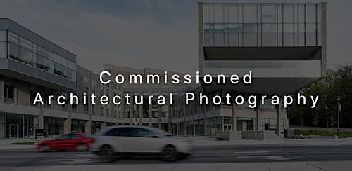 Commissioned Architectural Photography - Client Work