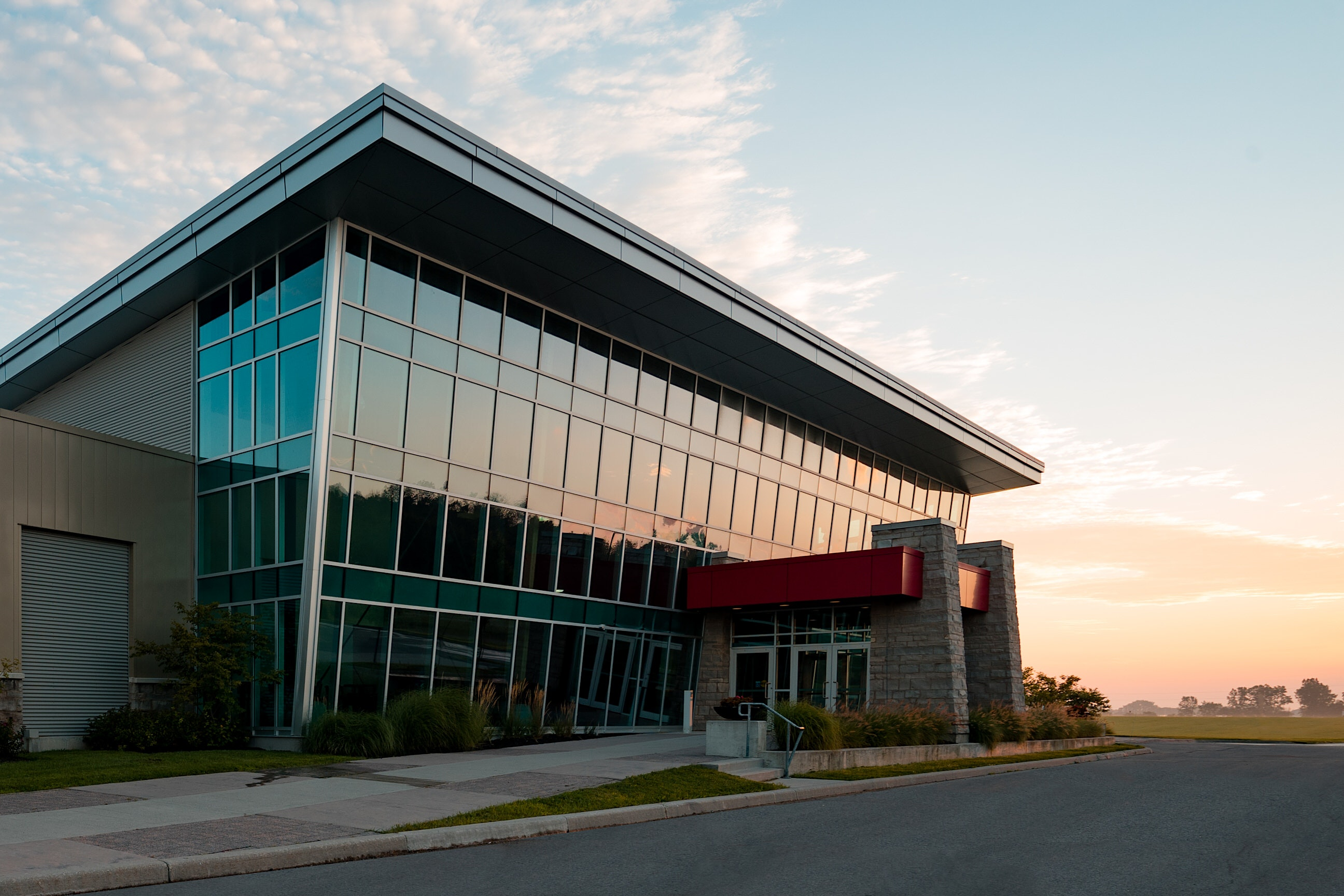 Architectural Photo of Forest City Community Church in London Ontario Canada