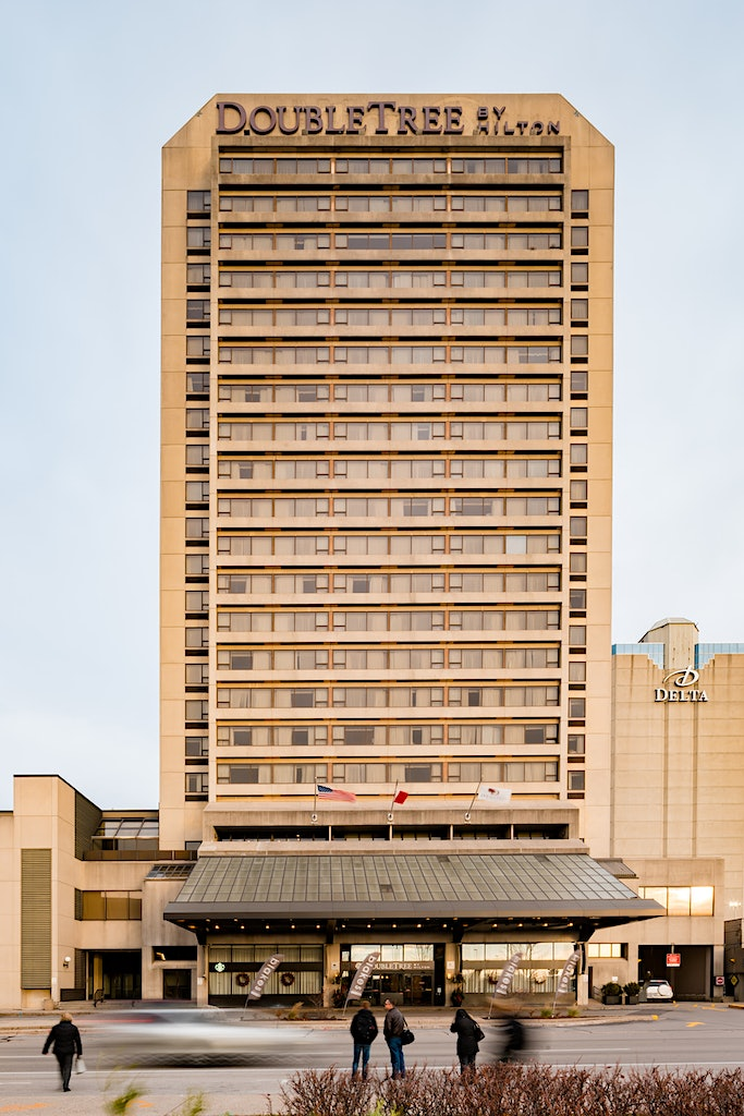 Full Image of DoubleTree by Hilton, a hotel in downtown London, Canada