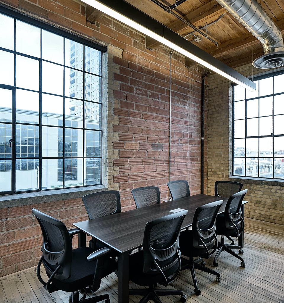 The Ghost & Goblins Meeting Space inside Info-Tech Research Group London Ontario Canada