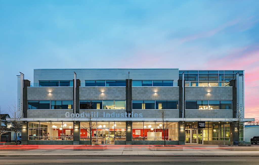 Architecture Photo of Goodwill Industries Building in London Ontario by Scott Webb