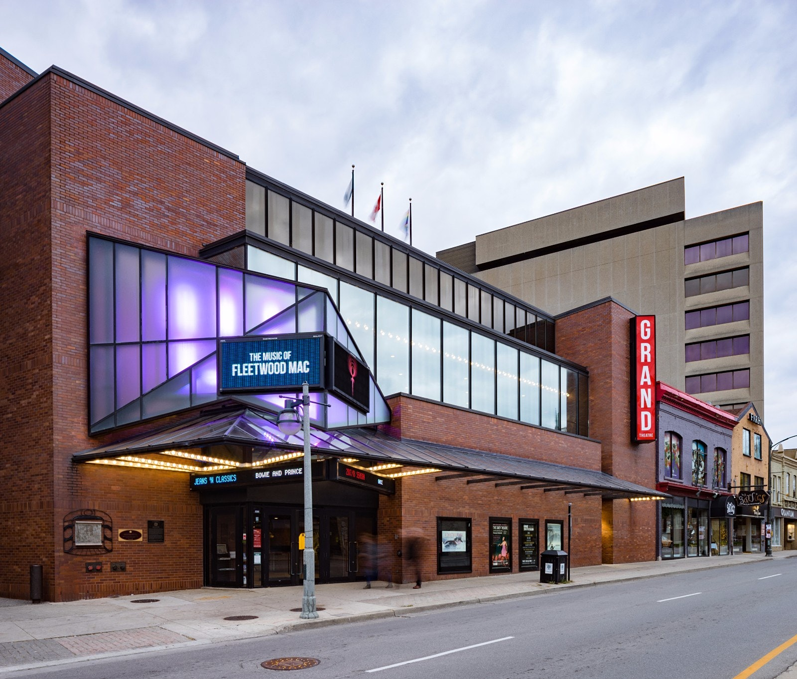 Gloomy Day in London Ontario - The Grand Theatre