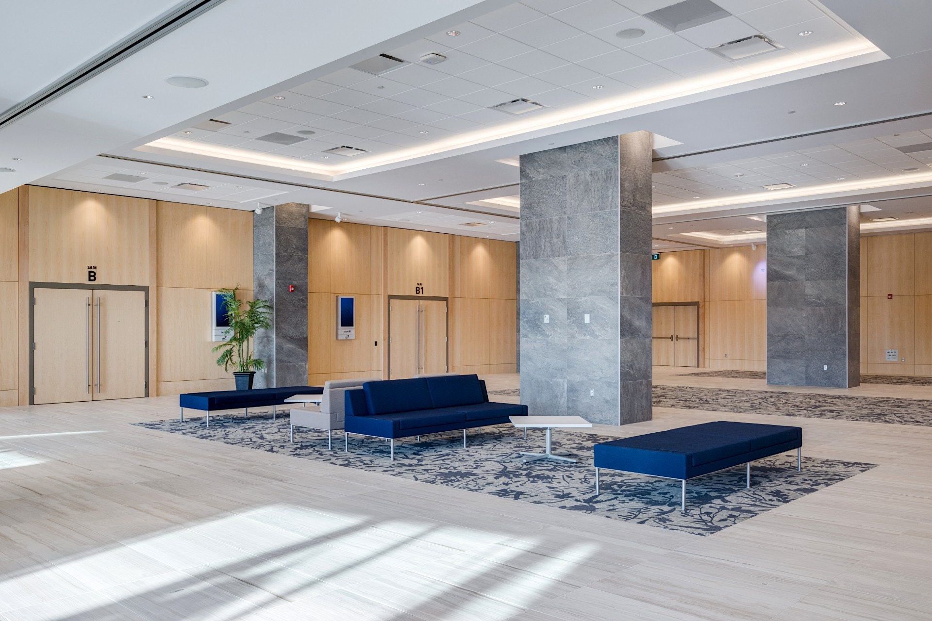 Interior photo of the LCC by Scott Webb Photography
