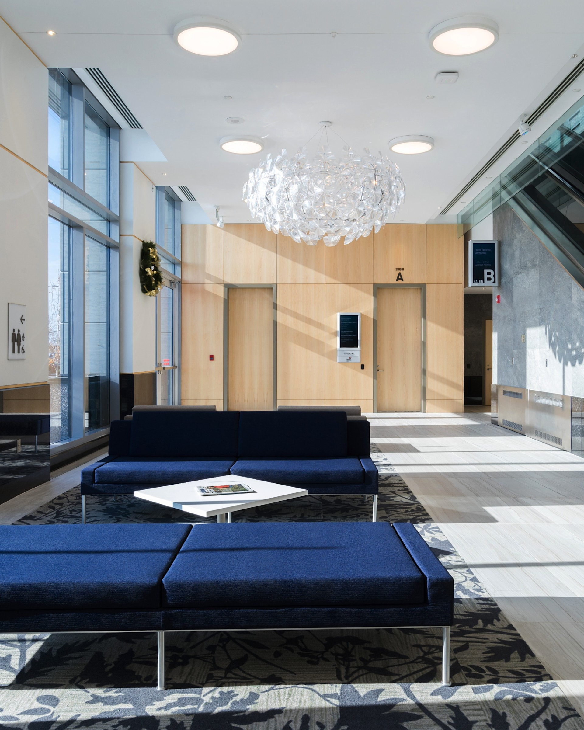 LCC Architectural interior and fixtures