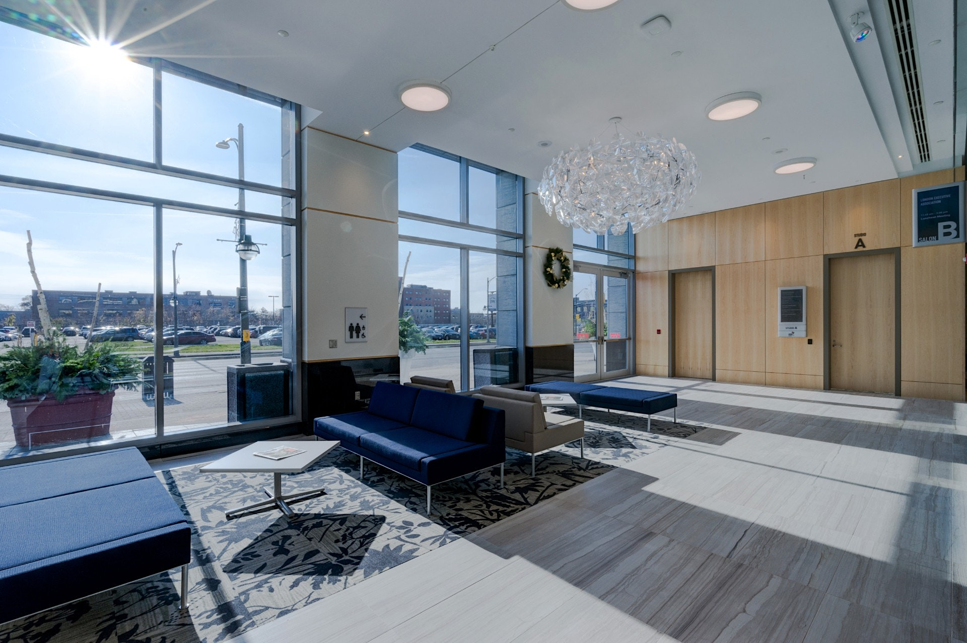 LCC renovated by Nicholson Sheffield Architects Inc in LDNONT