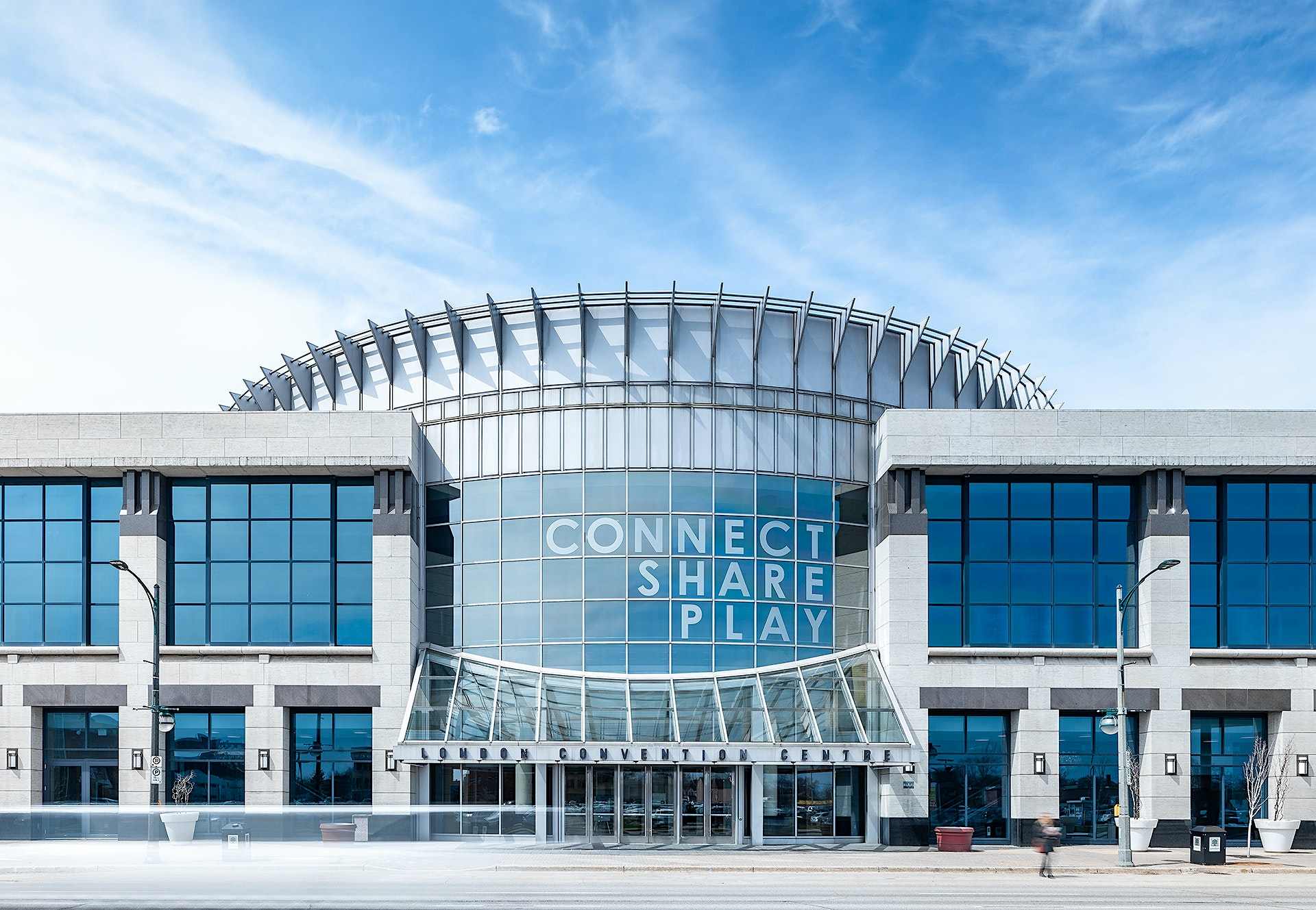 Photo of London Convention Centre on York Street in Downtown London By Scott Webb Photography