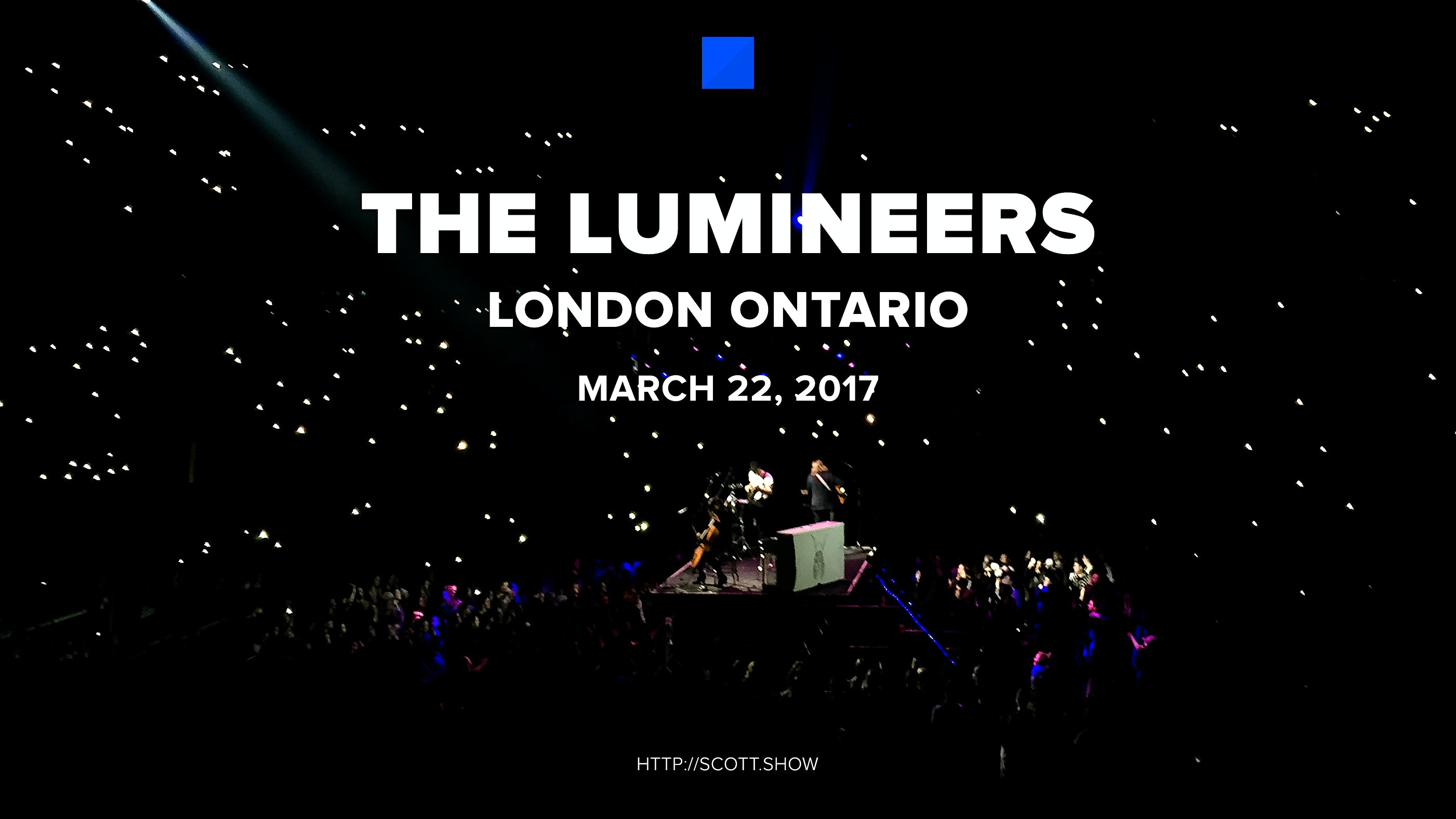 Lumineers in London at Budweiser Gardens