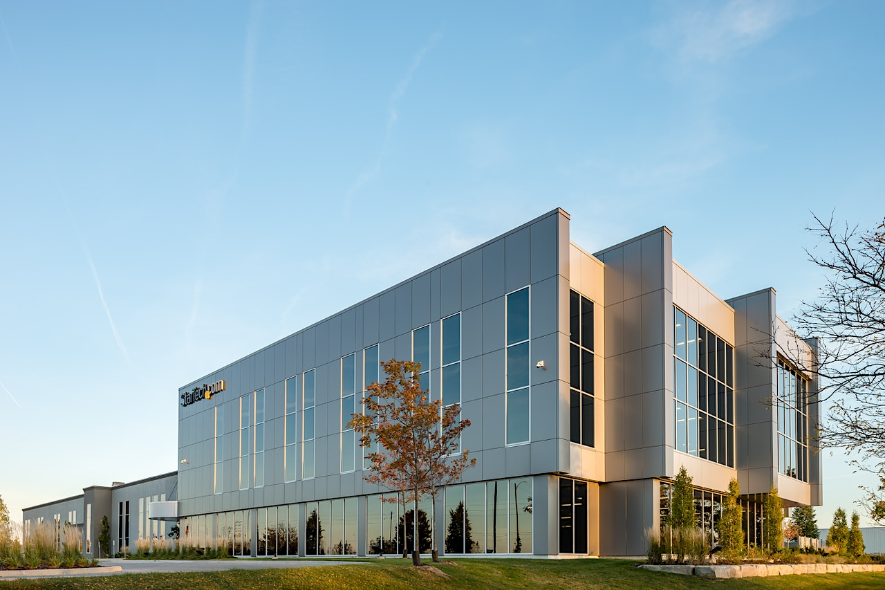 StarTech.com architecture addition by Nicholson Sheffield Architects in London Ontario Canada
