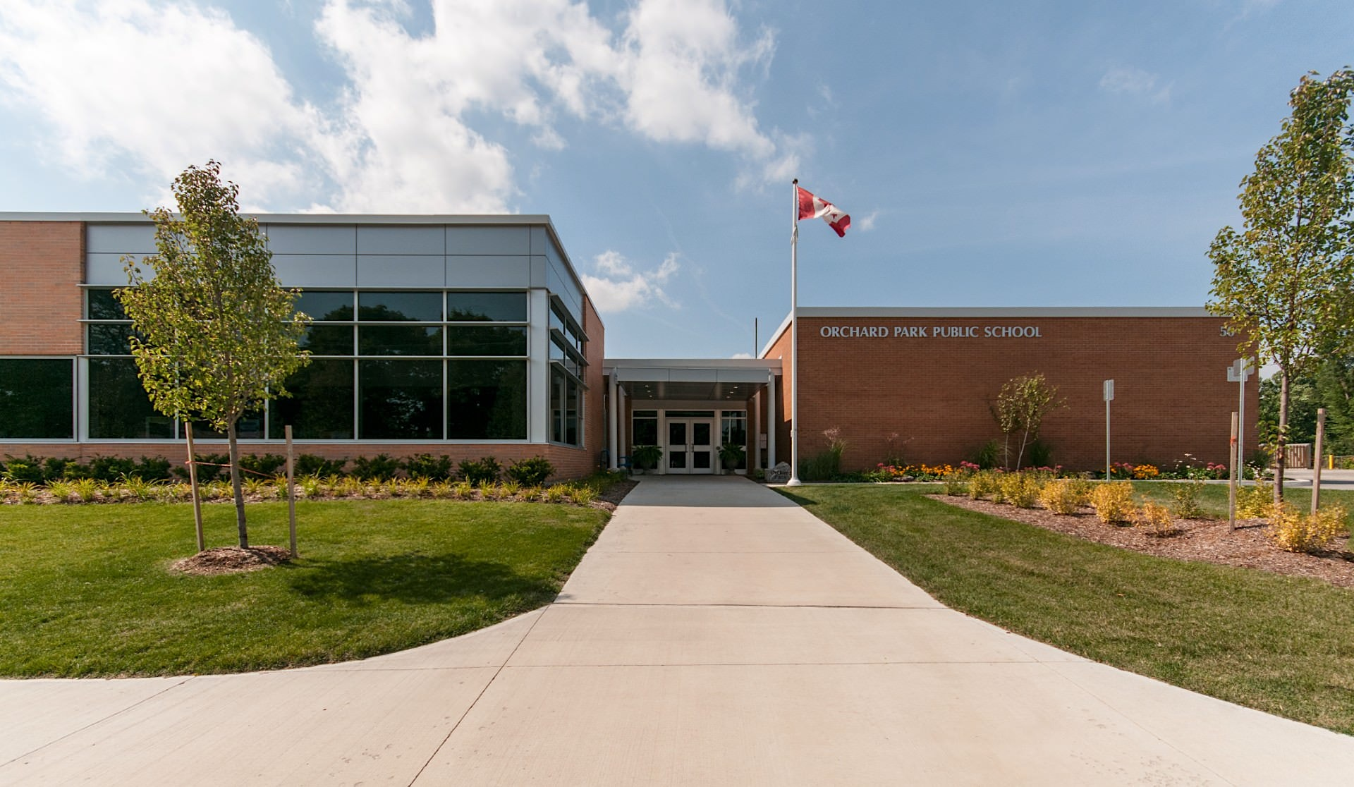 Orchard Park Public School Architectural Photography Gallery by Scott Webb