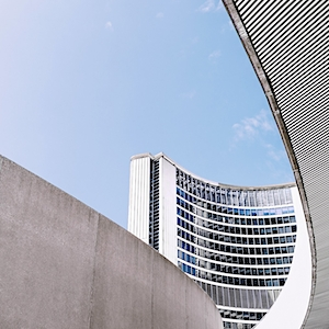 Scott Webb's image study of Toronto City Hall Architecture