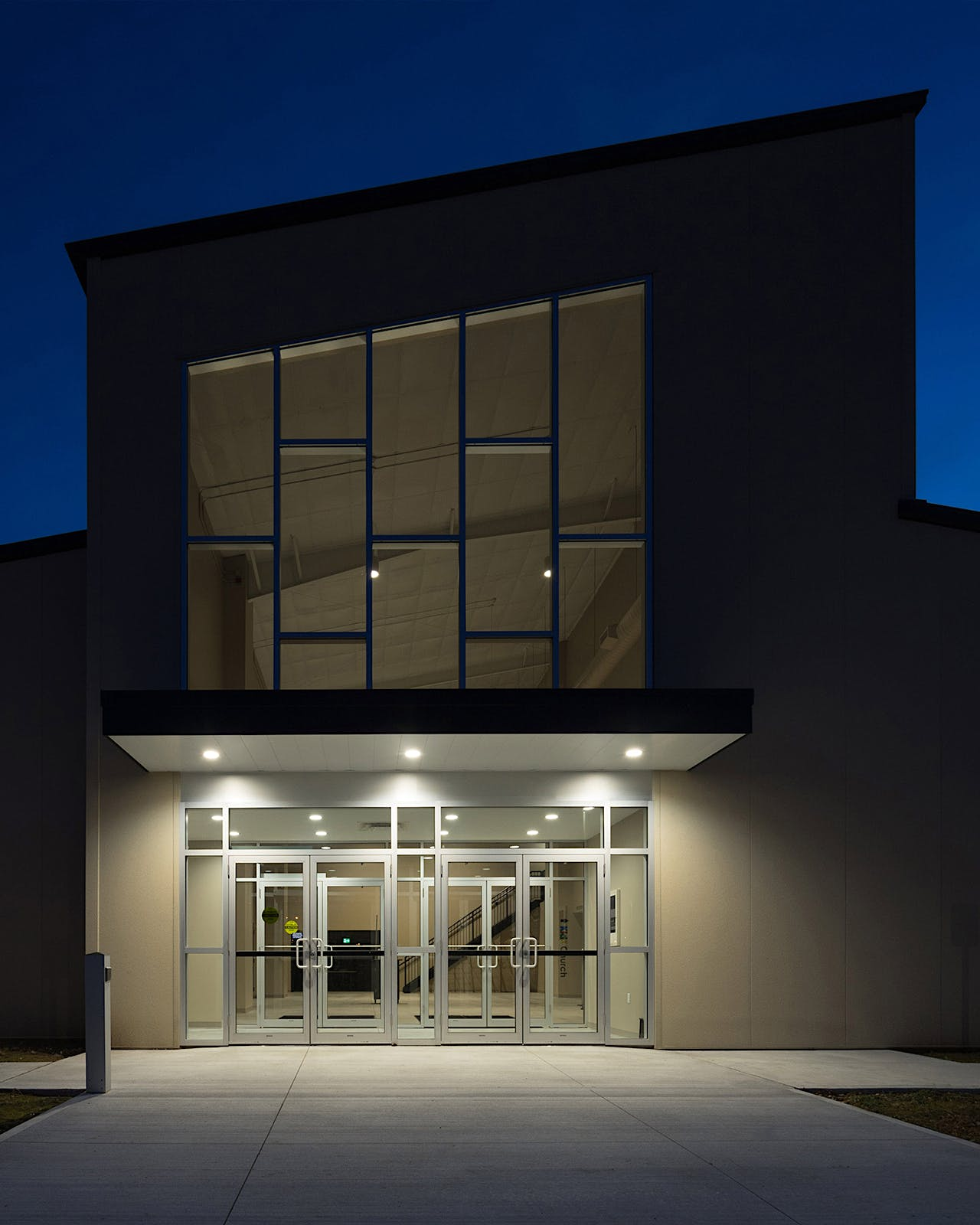 Twilight Architectural Photograph by Scott Webb for Grassmere