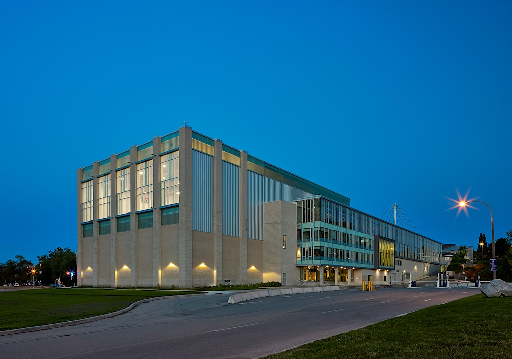 WSRC at dawn - a new showcase of London Ontario Architecture by Scott Webb Photography