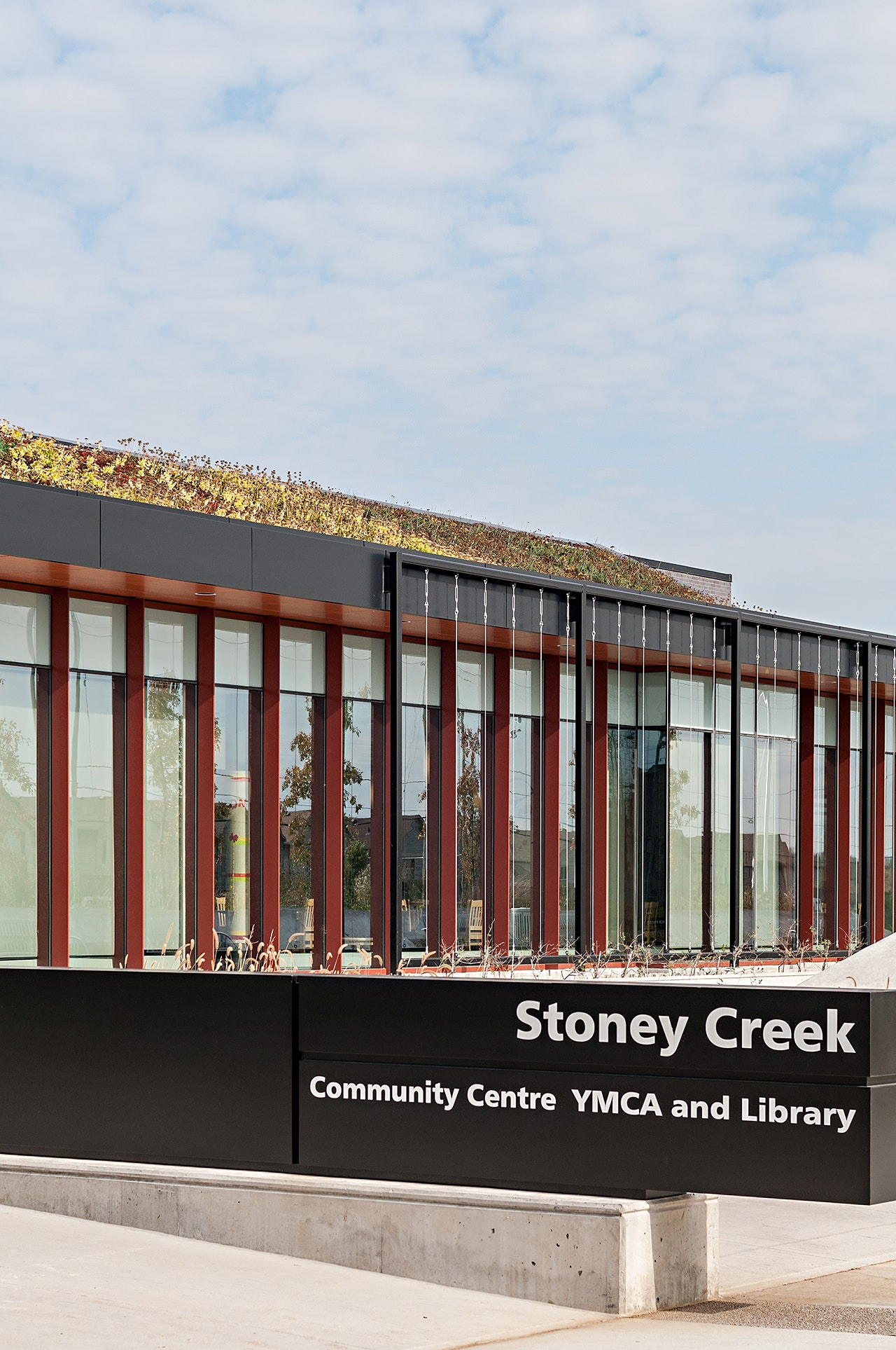 Architecture Photo of Stoney Creek YMCA in London Ontario by photographer, Scott Webb